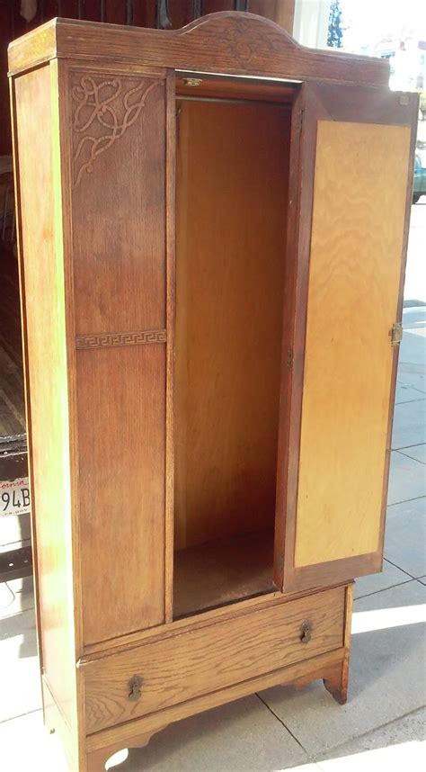 uhuru furniture collectibles sold reduced  wide art nouveau armoire