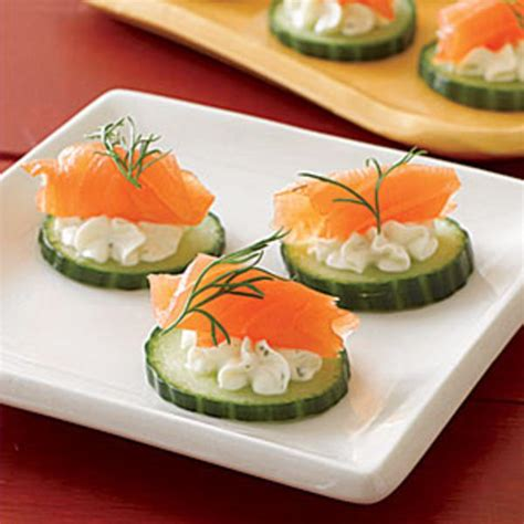 easy smoked salmon canapes easy appetizers for your festivities