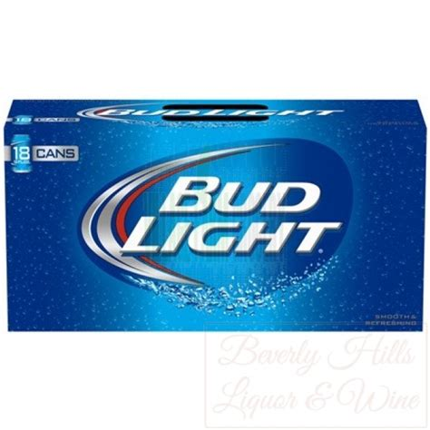 18 pack of bud light bud light 18 pack 12 oz cans