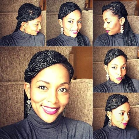 small braids around the face 17 best ideas about small box braids on pinterest medium