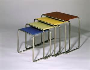 Marcel breuer nesting tables 1927