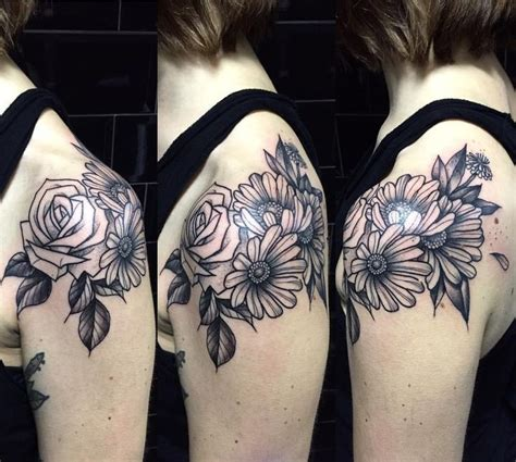 rose and daisy tattoo 17 best images about miss sita on