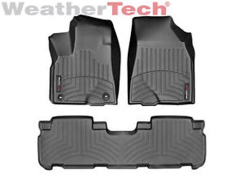 weathertech floor mats floorliner for toyota highlander