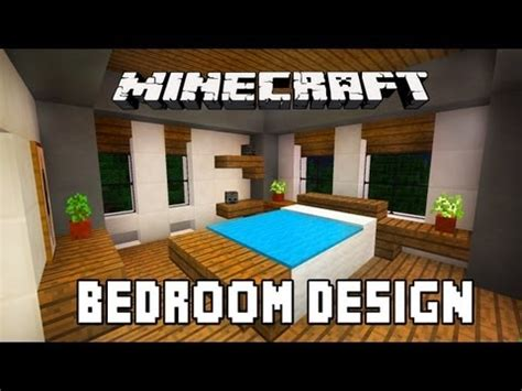 Bedroom Design Minecraft Pe Minecraft Tutorial How To Build A Modern House Ep 6