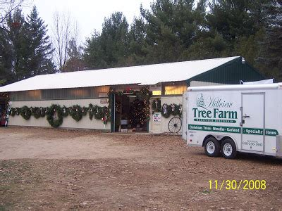 our first house hillview tree farm westfield wi
