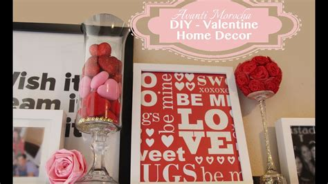 diy valentine home decor ideas  san valetin