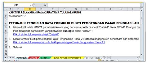 format excel import espt pph 21 download form 1721 a1 format excel