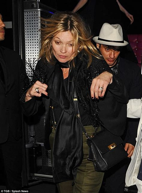 The 3am Worse For Wear Kate Moss And Osbourne Pair Up For A Out by Kate Moss Looks Worse For Wear After Partying With