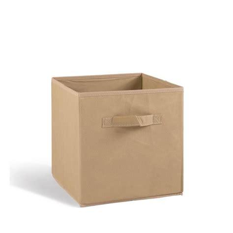tiroir de rangement en tissu boite rangement tissu achat vente boite rangement