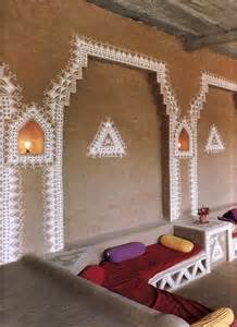 Beautiful Home Decorations by Beautiful Home Decorations Around The World Indian Mud