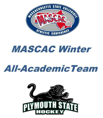Plymouth State Mba Semester by Psu S Hockey Players Named To All Academic Team