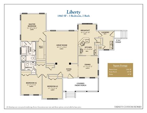 custom home floorplans floor plans trinity custom homes georgia