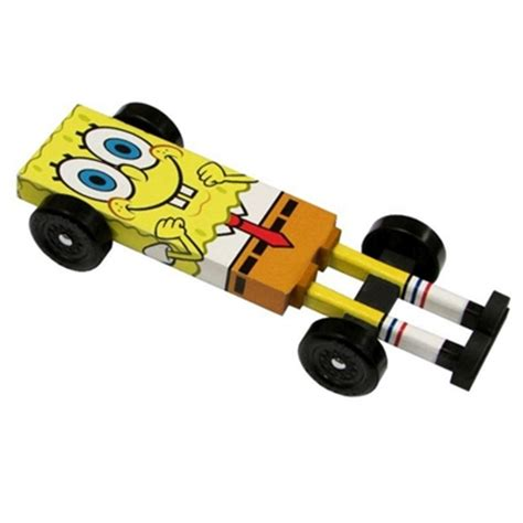 Derby Monkey Garage Templates by Spongebob Pinewood Derby Car Kit Derby Monkey Garage