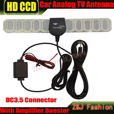 new factory price car anolog tv antenna car tv antenna tv aerial with lifier booster dc3 5