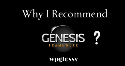 how to use genesis framework why i use genesis framework for one strong reason