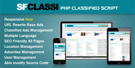 php classified ad scripts free commercial and open top php classified scripts a listly list