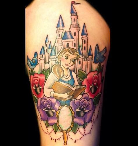 the rose tattoo characters and the beast tattoos disney tattoos