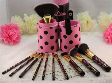 Bh Cosmetics Pink A Dot Brush beth and s review bh cosmetics 11 pcs pink a dot brush set beth and more