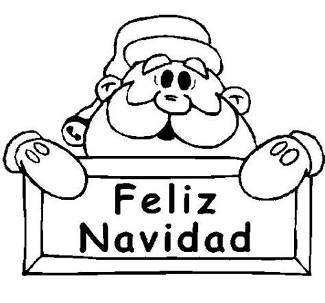 imagenes de navidad sin colorear dibujo de feliz navidad para colorear dibujos net