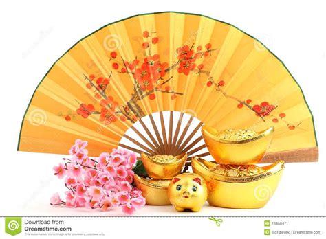new year fan decoration new year decoration stock image image 16868471