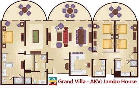animal kingdom grand villa floor plan disney s animal kingdom villas dvcinfo com
