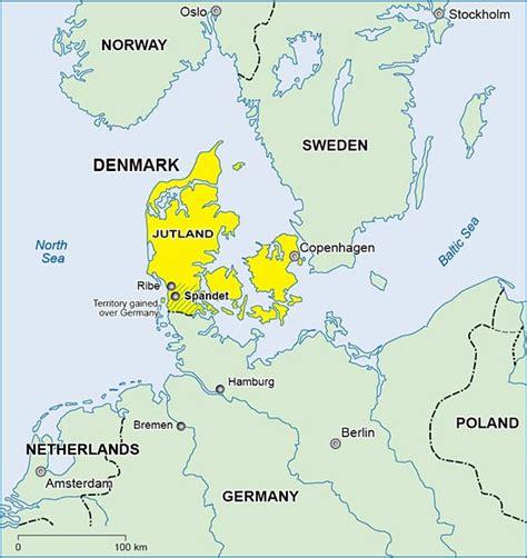 germany denmark map civilization ca christian bennedsen scrapbook of a