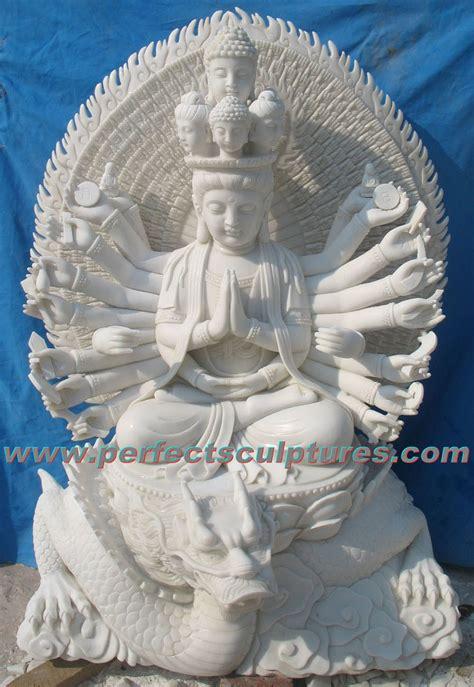 Fireplace Feng Shui by China Stone Marble Buddha Statue Kwan Yin For Feng Shui