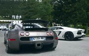 Bugatti Veyron Lamborghini Aventador Cars Lamborghini Aventador Bugatti Veyron Sport Rear