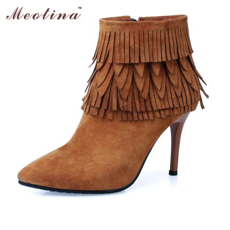 cheap fringe boots buy wholesale fringed ankle boots from china