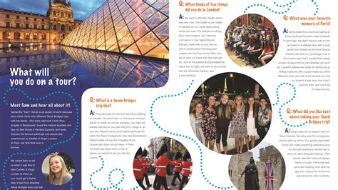 brochure templates new york tauck produces brochure just for kids travel weekly