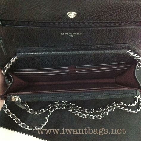 Ch Nel Woc Caviar 1 chanel classic quilted woc caviar in black