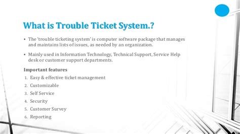 service desk tools comparison and recommendation trouble ticket systems