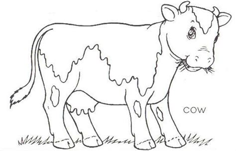 cow farm coloring page farm coloring pages coloring pages to print
