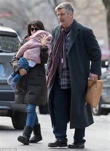 Alec Baldwin On The View This Friday by Alec Baldwin Bonds With Baby As They Step Out With