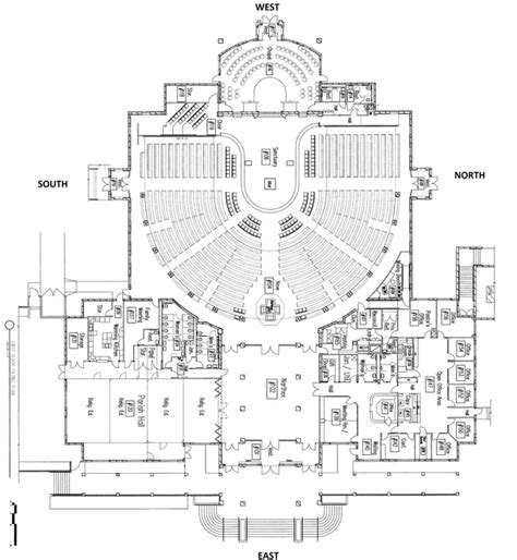 floor plan of a church floor plan st of lima catholic church reno nv