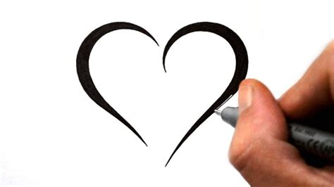 cute heart tattoo designs designs drawing how to draw an impossible