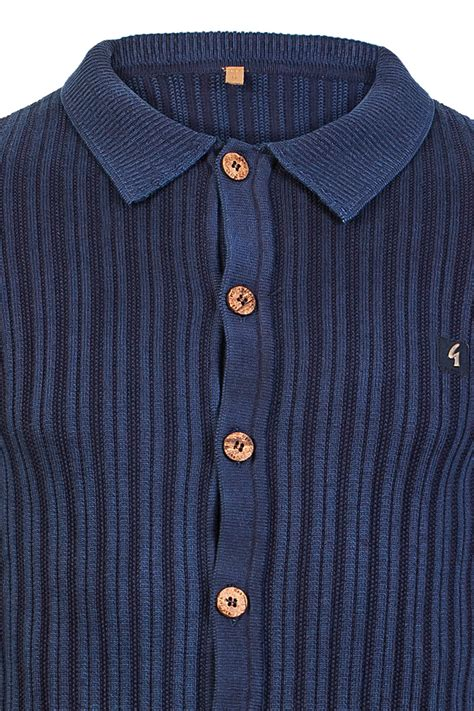 138 81 Olaf Pajamas Caluby gabicci vintage mens navy blue knitted sleeve button up cardigan size s ebay