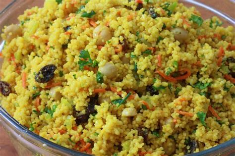 Curried Couscous Salad - The Daring Gourmet