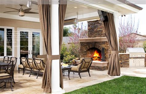 Outdoor Patio Curtains by Drapestyle Outdoor Drapery Curtains Orange County By