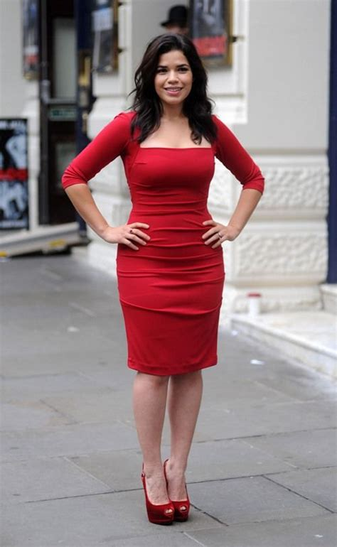 Just How Curvy Is America Ferrara by Obsessed With America Ferrera S Look