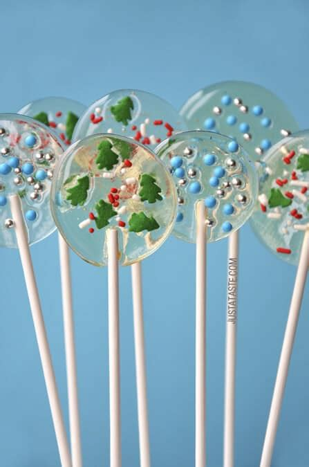 just a taste homemade holiday lollipops
