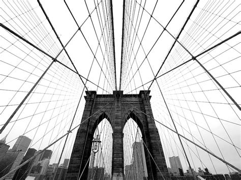 nyc brooklyn bridge photograph by nina papiorek