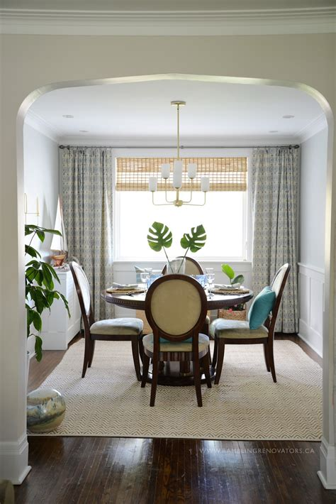 room challenge tropical dining room reveal