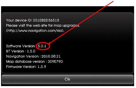 Kia Navigation Update Sat Nav Software Version For Kia Ceed Kia Owners Club