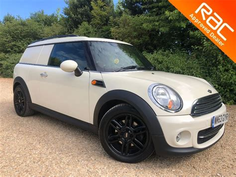 Car Derived Types by Used White Mini Clubvan For Sale Hertfordshire