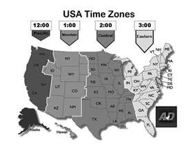 usa time zones cst us central time zone map