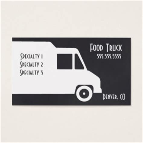 food business card template custom taco business cards zazzle co uk