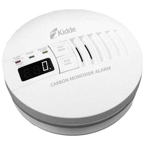 Carbon Monoxide Smoke Alarm Detector Detektor Co2 kidde 120v ac carbon monoxide detectors with battery back up cableorganizer