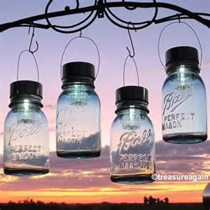 solar hanging lights hanging jar lights 4 jar solar lights
