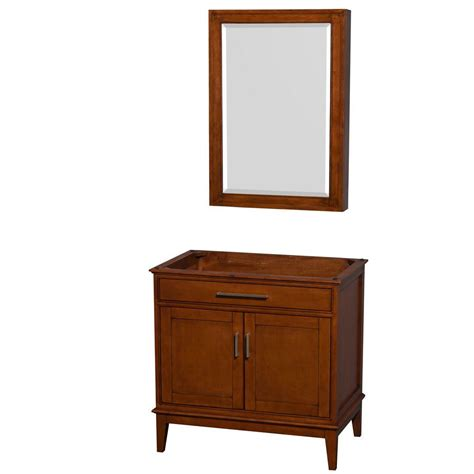 Medicine Cabinet With Vanity Lights Wyndham Collection Hatton 35 In Vanity Cabinet With